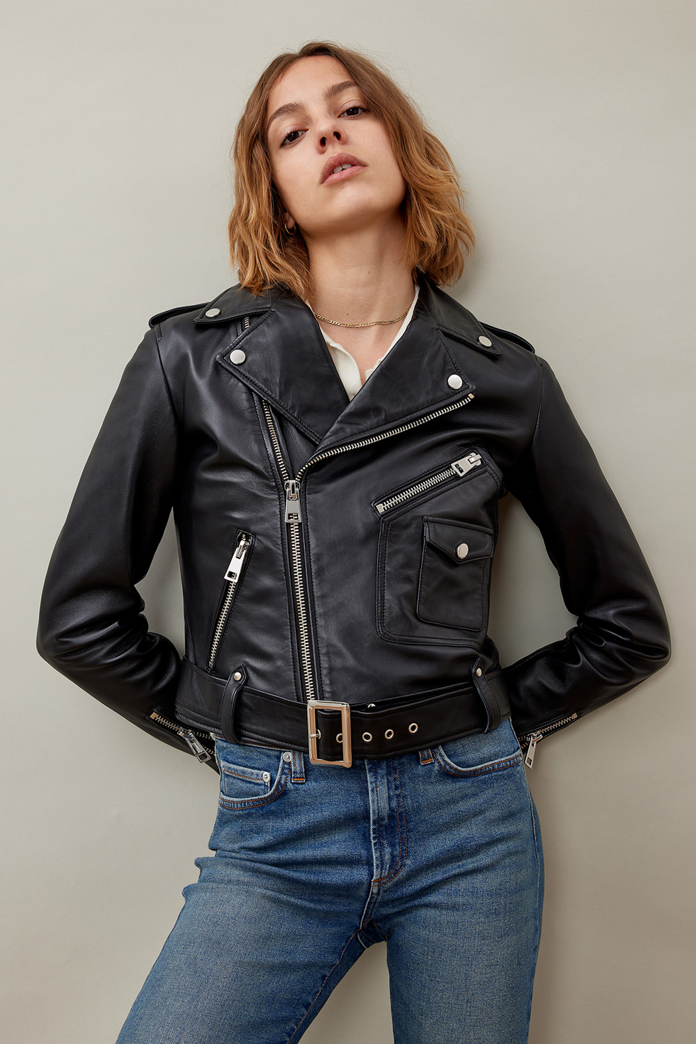 ROY ROGERS: RE-ISSUE LADY LEATHER JACKET