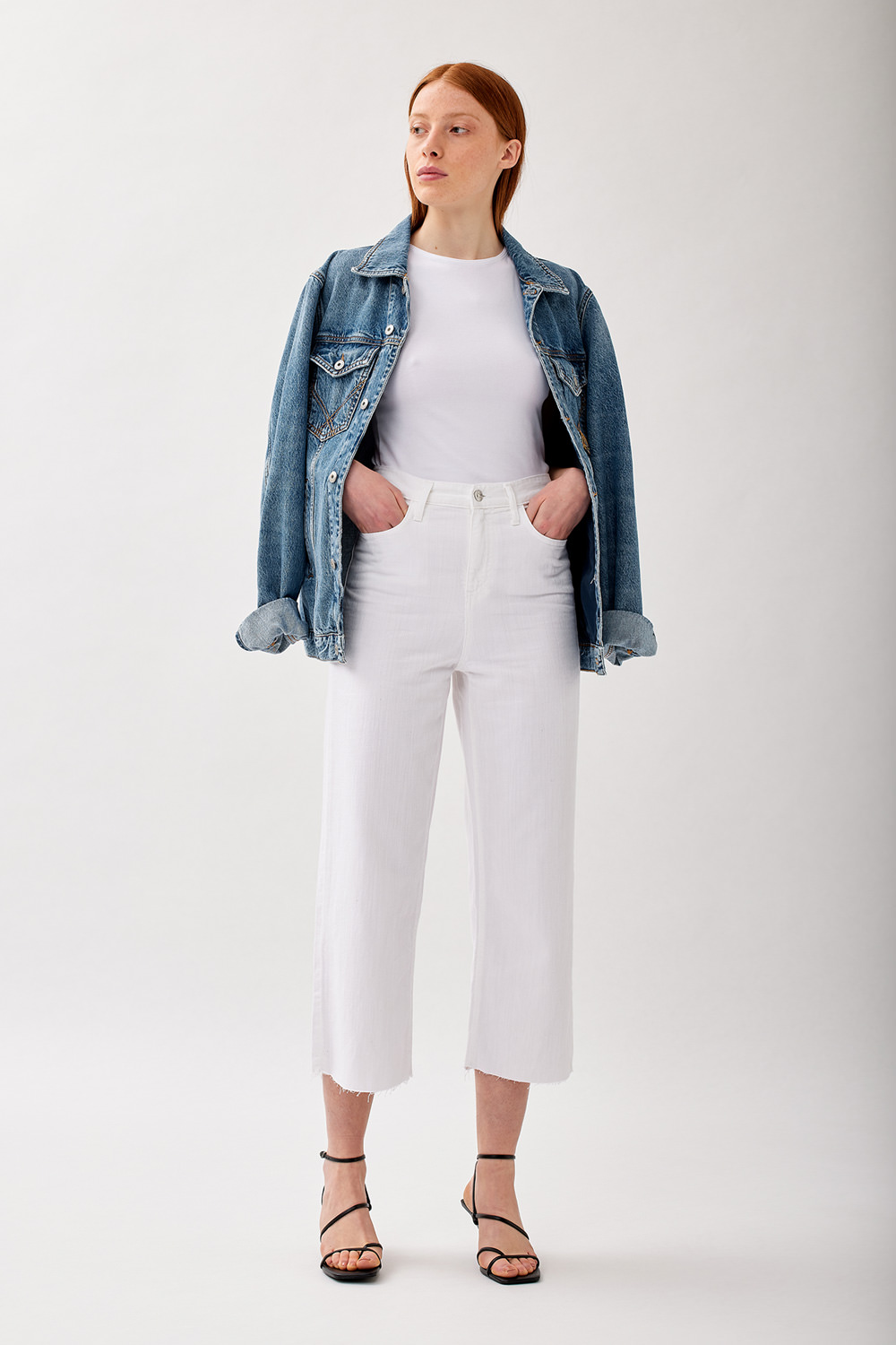 ROY ROGERS: JEANS RITA CROPPED
