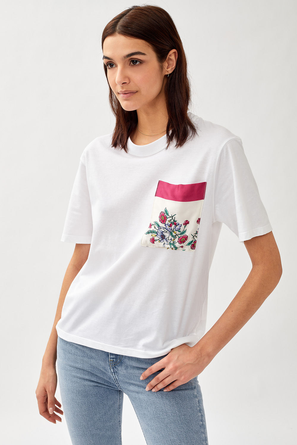 ROY ROGERS: T-SHIRT RE-ISSUE IN JERSEY CON TASCA FOULARD