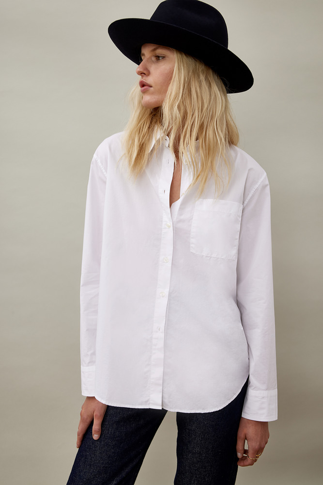 ROY ROGER'S RE-ISSUE EASY SHIRT IN WASHED POPLIN