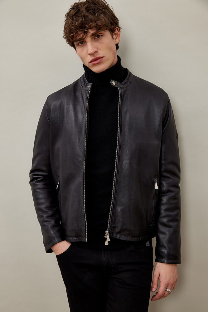 ROY ROGER'S GIACCA MARLON IN PELLE WASHED