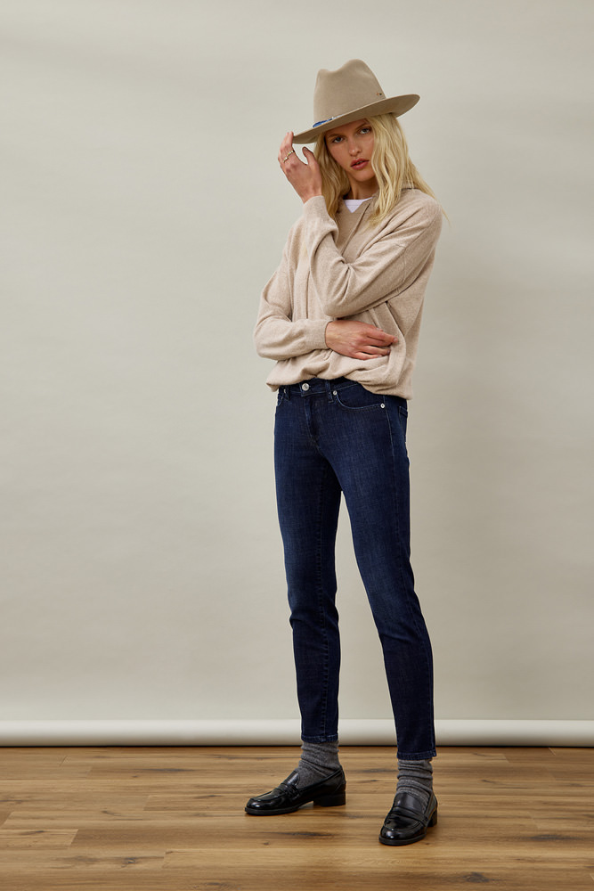 ROY ROGER'S JEANS CATE HIGH SINGAPORE SUPER STRETCH